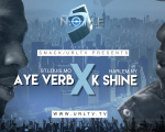 rap battle aye verb vs k shine