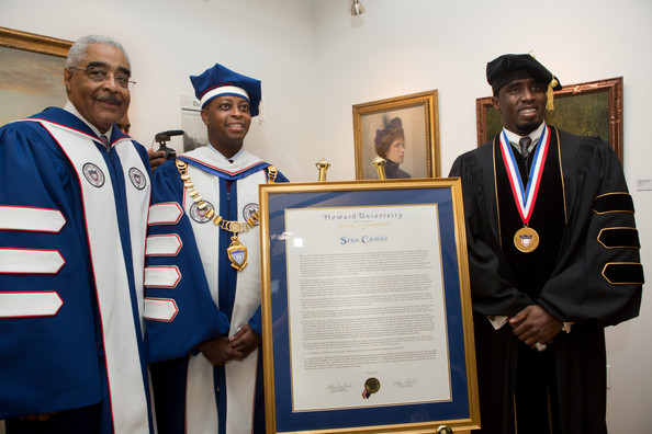 p diddy howard university
